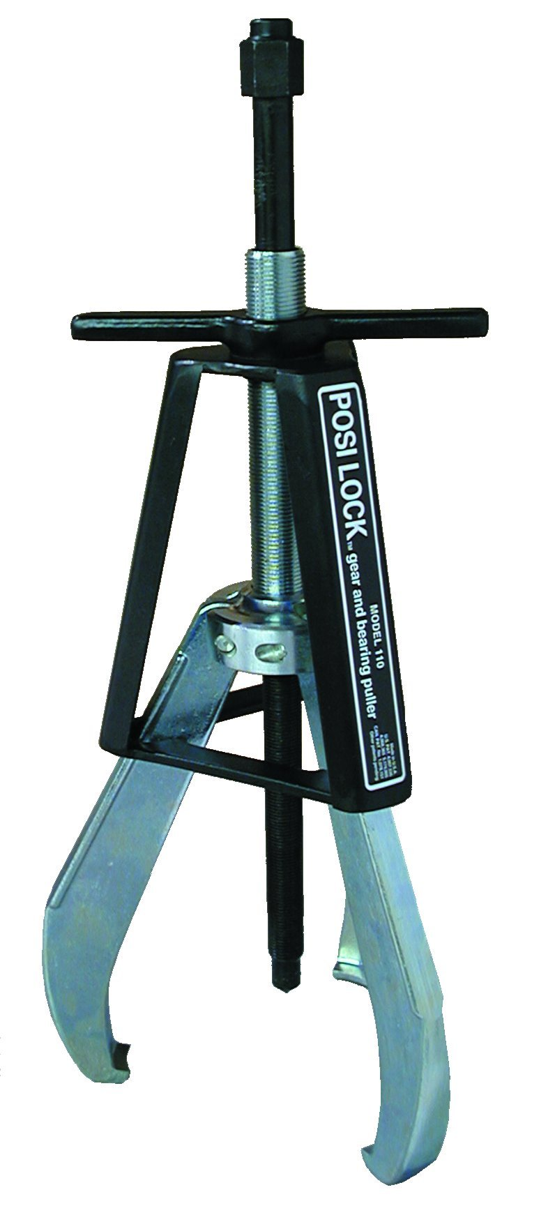 Posi Lock 110 Manual Puller, 3 Jaws, 20 tons Capacity, 9-2/3'' Reach, 1'' - 15'' Spread Range, 20-2/5'' Overall Length by Posi Lock Puller