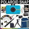 Polaroid Snap Instant Camera (Blue) + 2x3 Zink Paper (50…