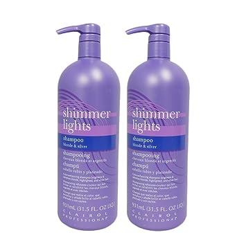 Clairol Shimmer Lights 31.5oz Shampoo (Blonde U0026 Silver) (2 Pack)