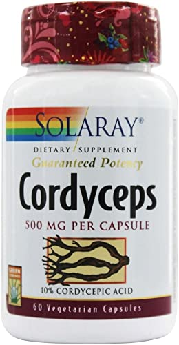 Cordyceps Extract Solaray 60 Cap