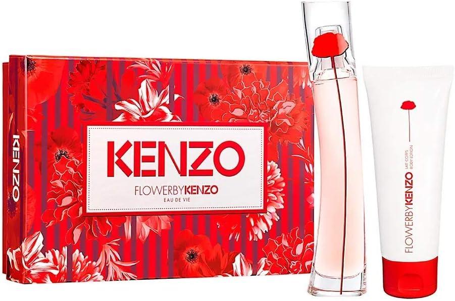 banner Kit feminino Lancôme Flower By Kenzo Eau de Vie (Lançamento) EDP 30ml + Loção Corporal 75ml