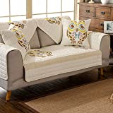 Protector furniture sofa towel,Sectional sofa covers 3 cushion sofa slipcover Armchair covers Furniture slipcovers Couch protector-B 110x210cm(43x83inch)
