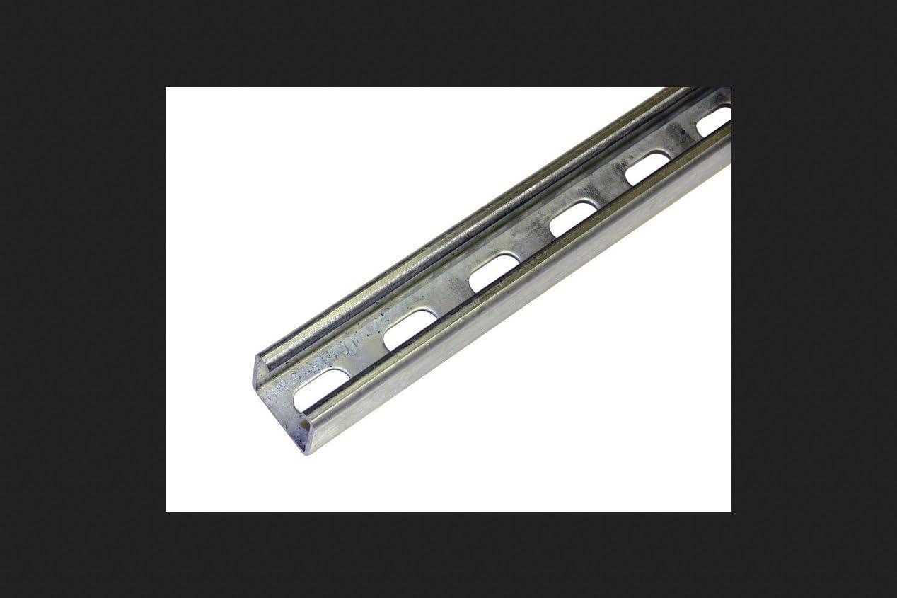 Case of 4 Strut Chan Pre-Galvanized Steel 2 ft L
