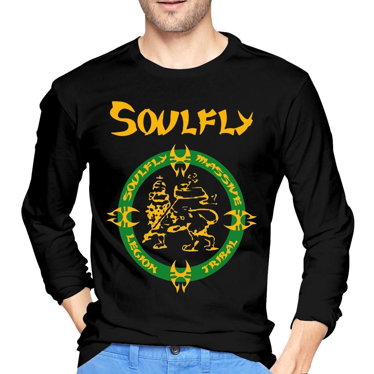 Fssatung S Soulfly Band Black Shirts