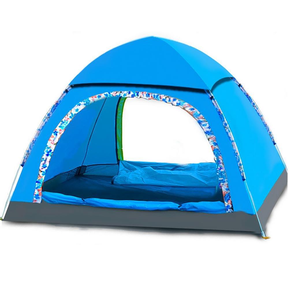 MIAO Automatische Zelte, Outdoor 2 Personen Camping Rain Prevention