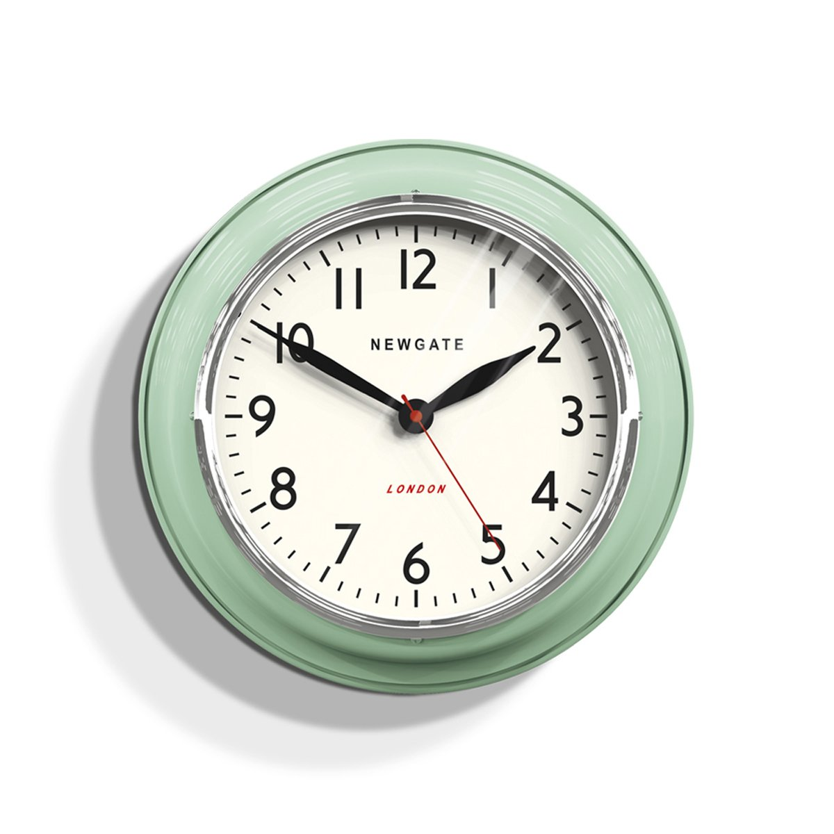 NEWGATE クックハウス クロック The Cook Houce Clock [ ミント/Lサイズ ] 壁掛け時計 B01N0EJ9P1ミントグリーン