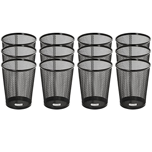 (Rolodex Mesh Collection Jumbo Pencil Cup, Black, 12 Count)