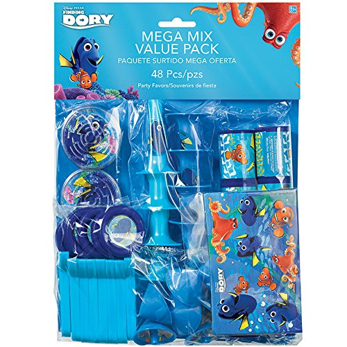Finding Dory Mega Mix Value Pack - Party Supplies by Amscan