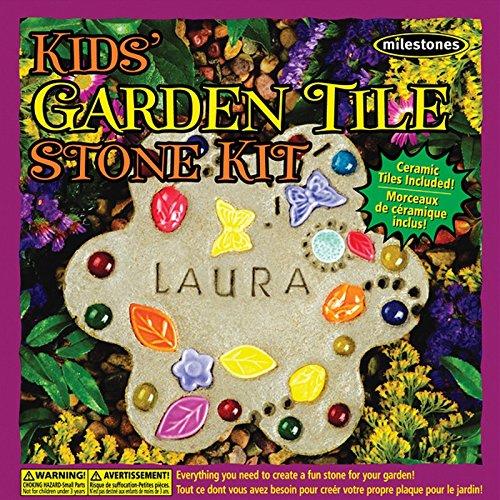 MilestonesKids Garden Tile Stepping Stone Kit by Milestones