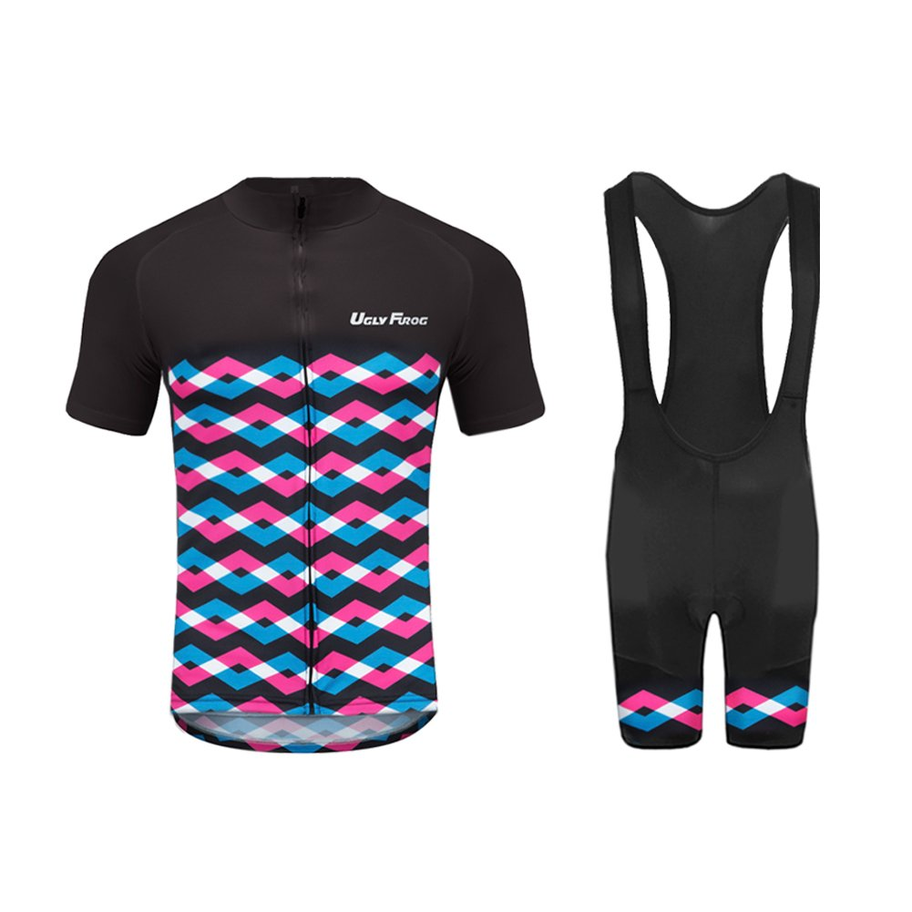 Uglyfrog 2016新作メンズアウトドアスポーツサイクリング半袖サイクルジャージ夏のバイクのシャツ自転車トップug1 B074XSPZLH XL カラー29 カラー29 XL