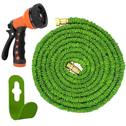 Magic Vida flexiSchlauch 7,5m bis 22,5m flexibler Gartenschlauch ausgedehnt Knickfrei Neu (22,5m)