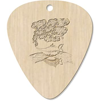 Azeeda 7 x Lámpara Mágica árabe Guitarra Púa (GP00009886 ...