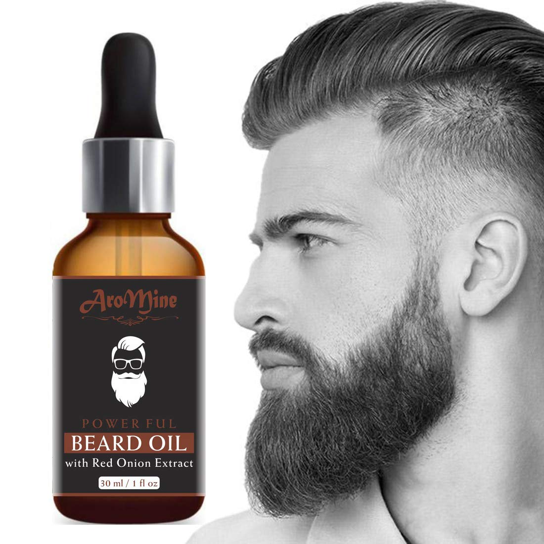 AroMine New Improved Onion Beard Growth Oil & Moustache Oil-30ml: Amazon.in: Health & Personal Care