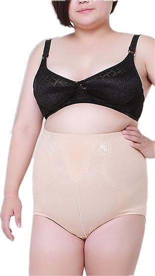 c04bba01ea5 HONEY HOMEY High Waist Tummy Control Plus Size Slim Shapewear Thong at  Amazon Women s Clothing store