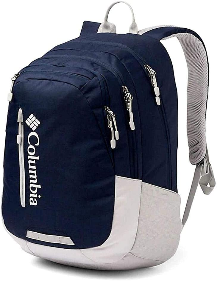 "Columbia Winchuck 15"" Laptop Backpack Omni Shield School Daypack (Collegiate Navy)"