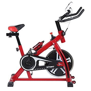 blackpoolal sp6901 Home trainer LCD Fitness Bicicleta Estática Bicicleta Fitness Bike Indoor Cycle Trimm – Rueda