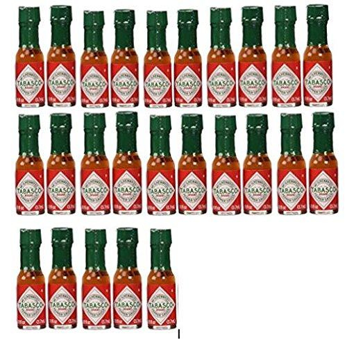 Tabasco brand Pepper Sauce 25-pack Miniatures 1/8oz. (Tabasco Island Louisiana Avery)