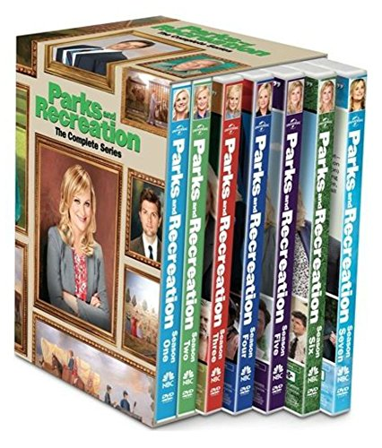 PARKS AND RECREATION COMPLETE SERIES New 20 DVDs Seasons 1-7 Season 1 2 3 4 5 6 7