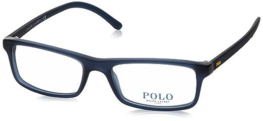 Polo PH2152 Eyeglass Frames 5276-54 - Matte Cristal Blue PH2152-5276 ...