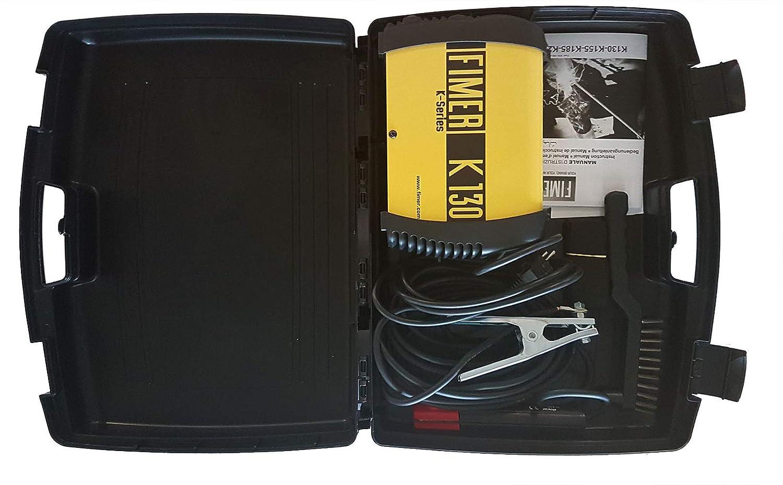 Fimer 5 K1.130.05 Kit soldador inverter MMA electrodo 100: Amazon.es: Industria, empresas y ciencia