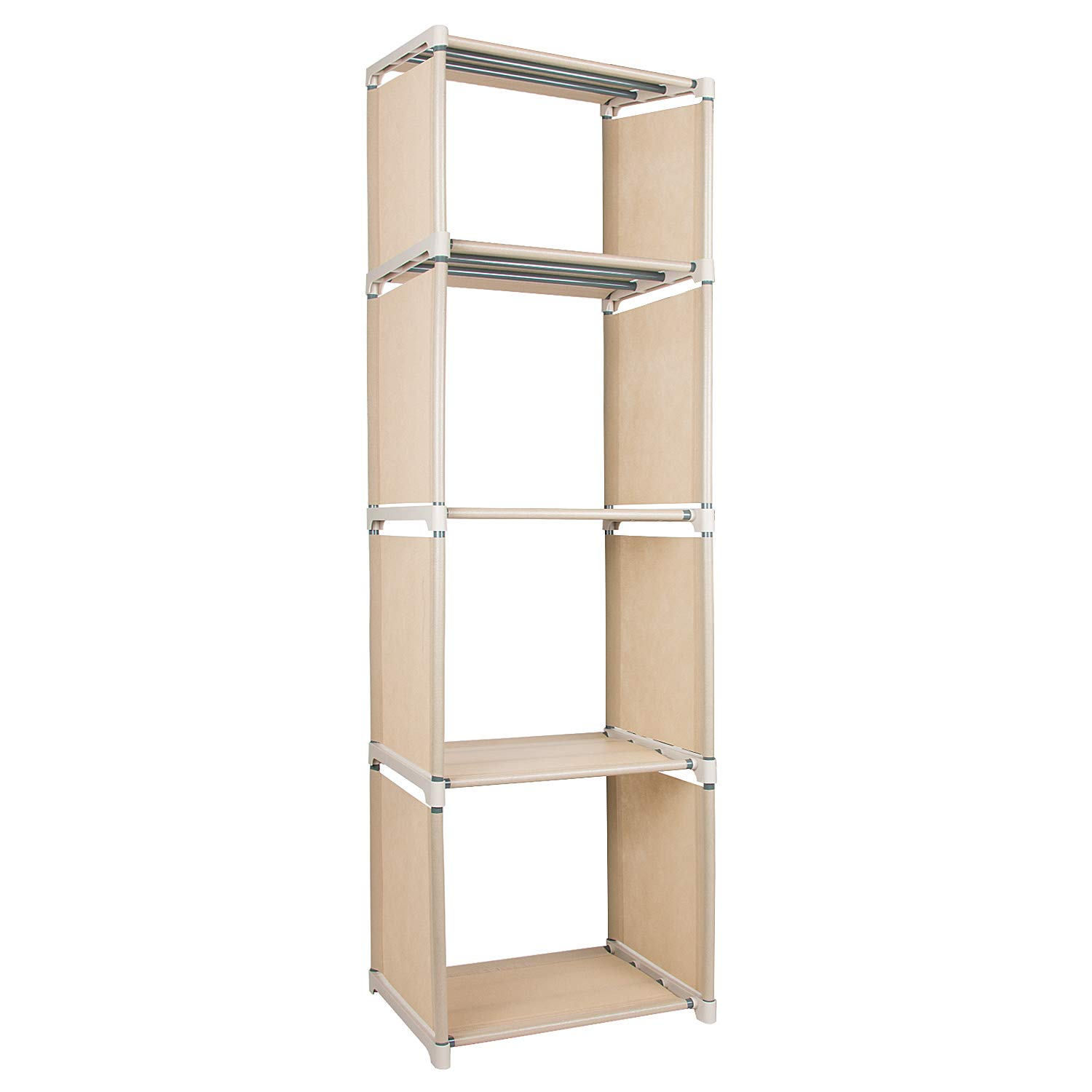 Azadx 4 Cube Bookcase, Home Furniture Storage Bookshelf Storage for Kids' Bookcases, Cabinets & Shelves