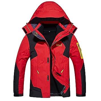 ba32d061304076 SODSIM 3 in 1 Jacke Herren Wasserdicht Atmungsaktiv Doppeljacke Outdoor  Softshelljacke Winter Funktionsjacke Skijacke