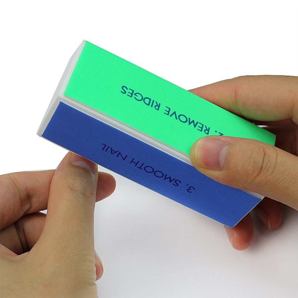 Hosaire Nail Art Shiner Buffer 1 Pcs 4 Ways Polish Sanding File Block Manicure Product