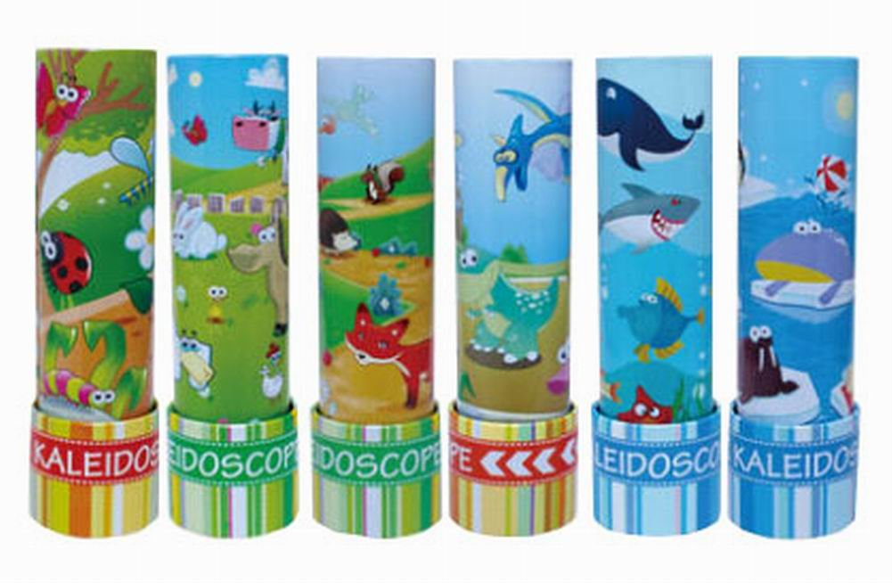 Kids Science Exploration Toy Kaleidoscope Colorful Prism, 1PCS Random Pattern