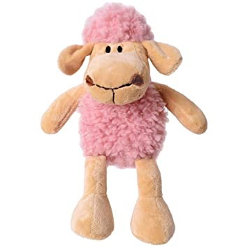 TE-Trend Peluche Felpa Oveja corderillo Animal Felpa Peluche ovejas de Peluche Corderito Oveja 32cm