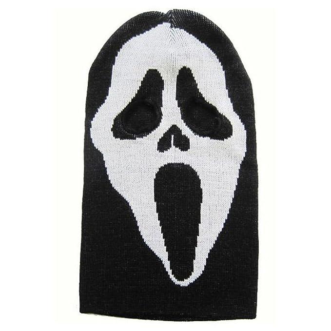 Amazon.com: Halloween máscara de invierno Knit Nieve Esquí ...