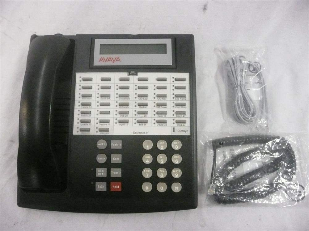 *Fully Refurbished* Avaya Partner 18D Euro Black Series 1 Business Office Phone
