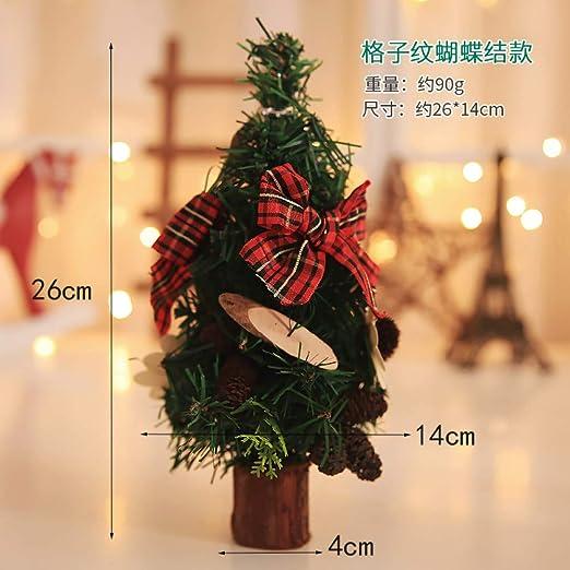 BNMVCX Árbol De Navidad Delicado Mini Christmas Home Desk ...