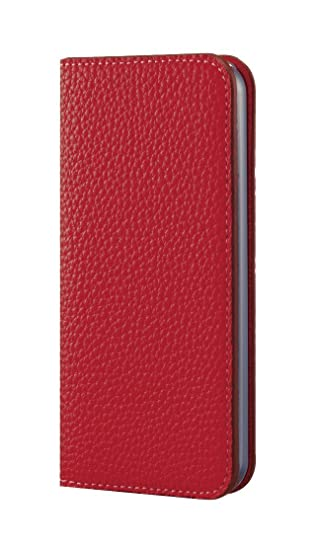size 40 16007 a56fd BONAVENTURA Leather Wallet Diary Flip Case [Compatible iPhone 6s/6 | Red]