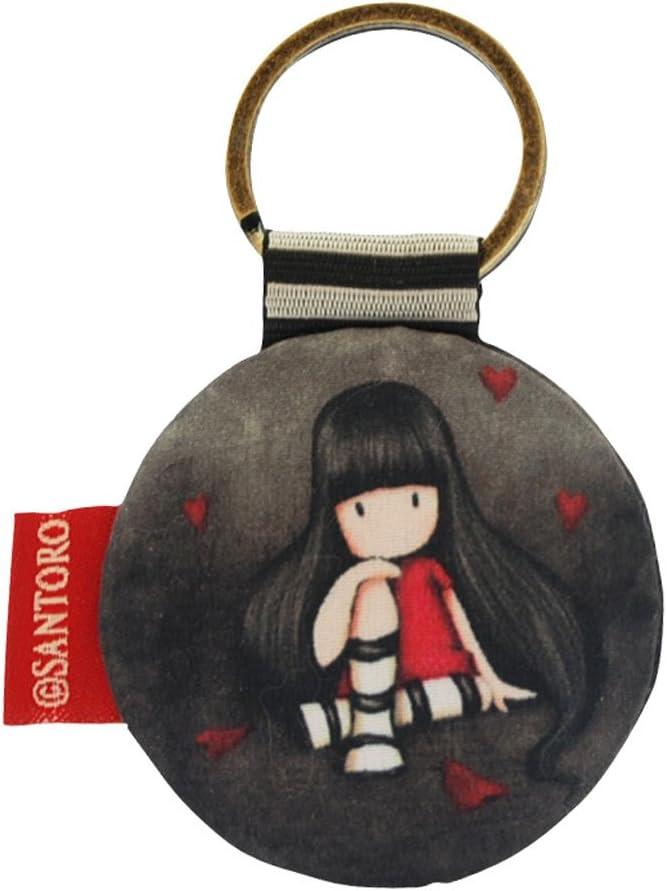 Gorjuss - Llavero (forma redonda), diseño con niña: Amazon.es ...