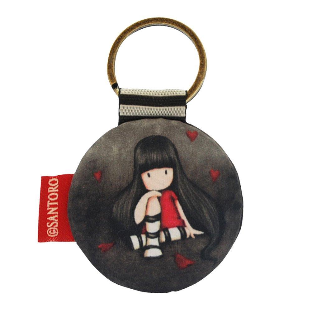 Gorjuss - Llavero (forma redonda), diseño con niña: Amazon ...