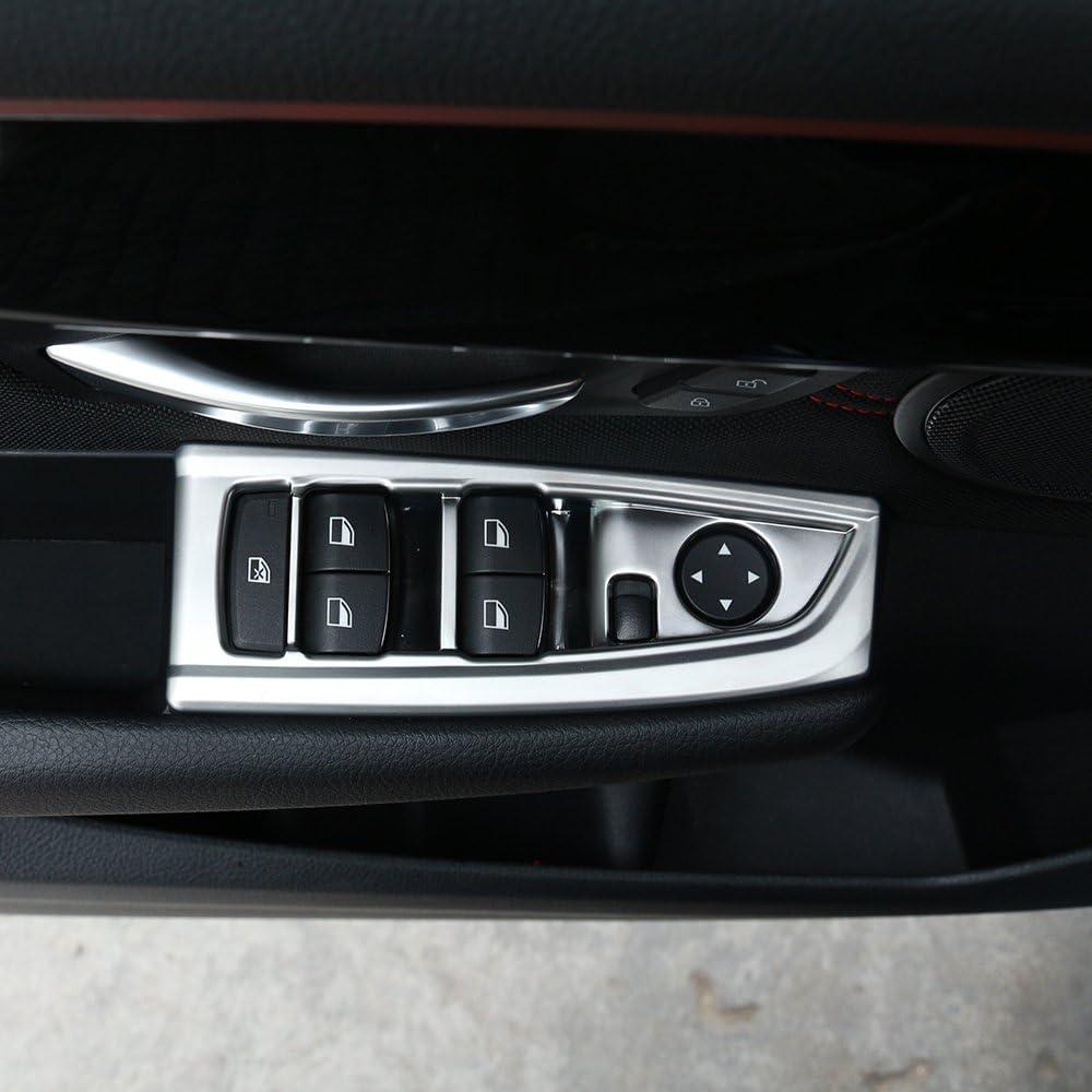 4 X Fensterheber Schalter Abdeckung Verkleidung Für 2er F45 F46 218i 2015 2017 Autozubehör Auto