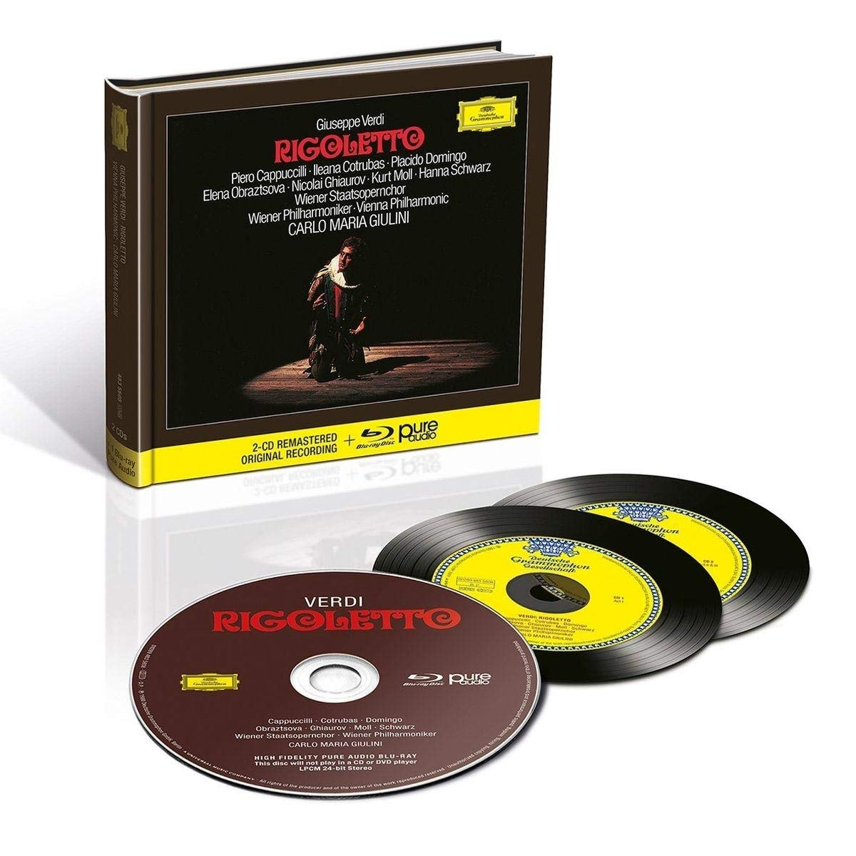 CD : Carlo Maria Giulini - Rigoletto (With Blu-ray Audio)