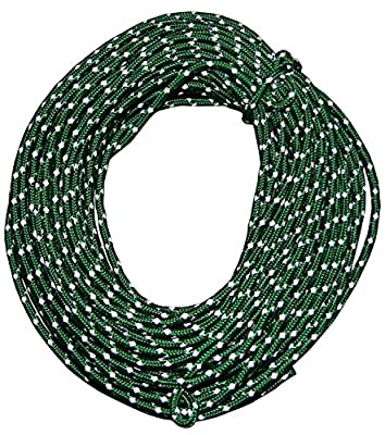 Nite Ize RR-04-50 Reflective Cord 50 Feet Green New