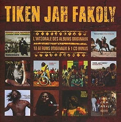 Relativ L'Intégrale des Albums Originaux : Tiken Jah Fakoly: Amazon.fr  VW52