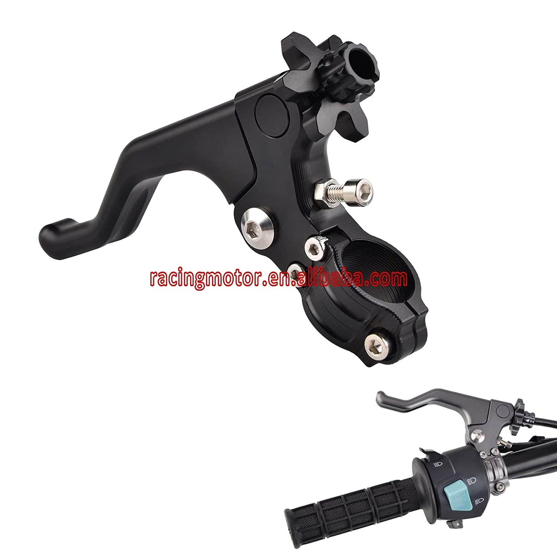 CNC Stunt Clutch Pull Cable Lever Easy System for Yamaha Honda Kawasaki Suzuki Buell Ducati Triumph CR CRF YZ WR KX KLX RM CBR