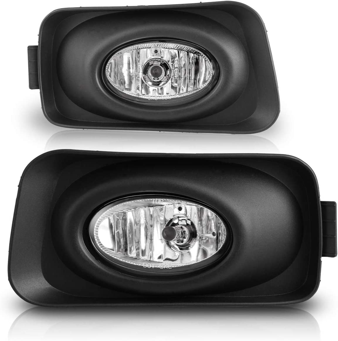 Fog Lights For Acura TSX 2004-2005 Fog Light Assembly 2PCS OEM Replacement Fog Lamps AUTOWIKI