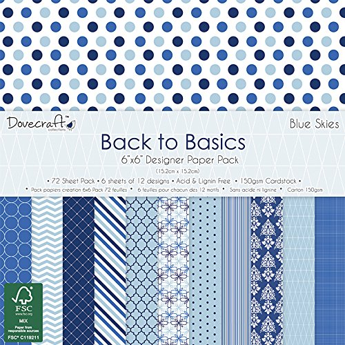 trimcraft-dovecraft-back-to-basics-paper-pack-72-per-pack-6-x-6-blue-skies