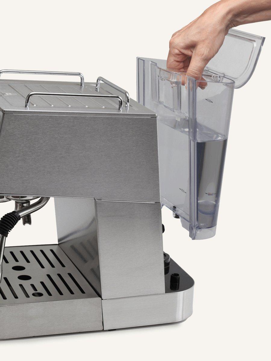 Capresso 125.05 Cafe Pro Espresso Maker, 42 oz, Silver by Capresso