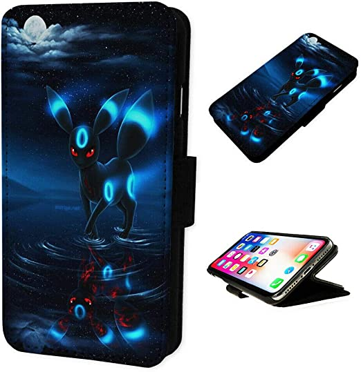 Umbreon Pokemon - Flip Phone Case Cover for iPhone & Samsung (Please Select Correct Model) (iPhone 12 Pro MAX)