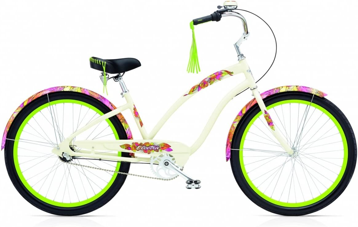Electra Beachcruiser Sans Souci 3i Cream Ladies size 3 Velocidades ...