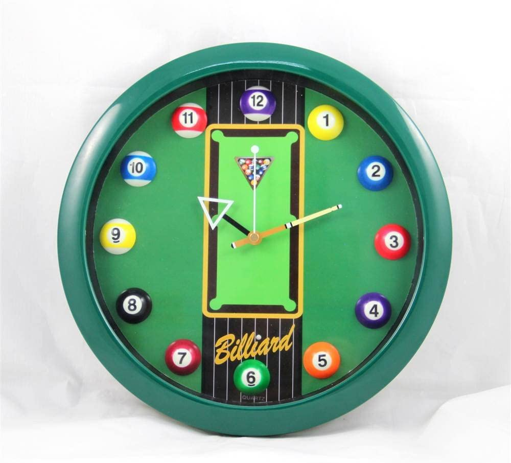 Sterling Gaming Reloj de Mesa de Billar: Amazon.es: Deportes y ...