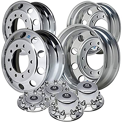 """Alcoa 19.5"""" Wheel Package for a Ford F450 & F550 Polished (2005 - current)"""