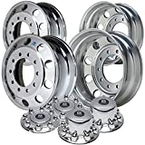 Alcoa 19.5'' Wheel Package for a Dodge Ram 4500 & 5500 Polished (2005 - current)