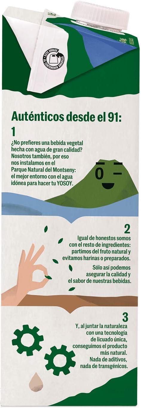 Yosoy - Bebida Vegetal de Soja - Caja de 6 x 1L