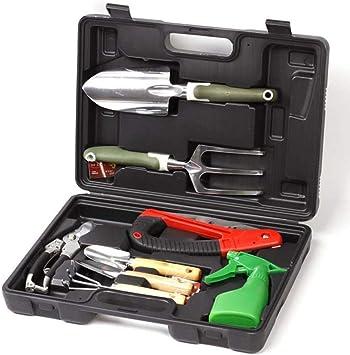 Descripción del producto 8-in-1 Garden Tool Set es un kit d
